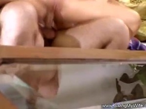 Tight Blonde Swinger Threesome For Horny..