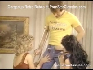80's Threesome Hairy Fantasy Session