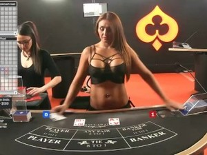 Sexy Dealer(Croupier) Holly  Online..