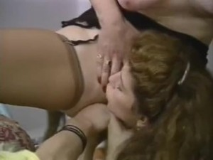 Old young lesbians - vintage threesome..